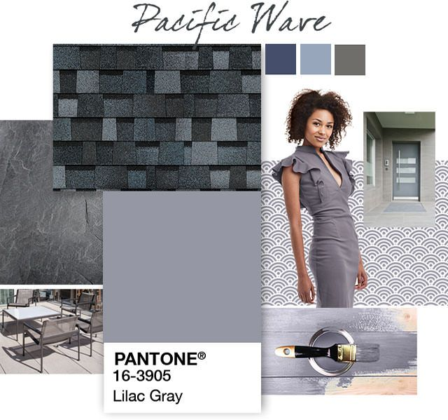 Best Exterior Home Design Lilac Gray Pacific Wave By Owens 400 x 300