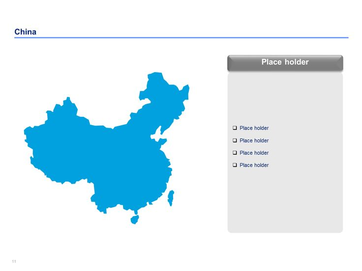 16 best editable powerpoint china map templates images on pinterest china map templates gumiabroncs Image collections