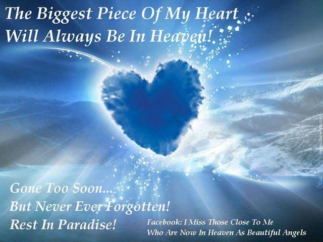 Missing someone in heaven missing someone in heaven sayings more