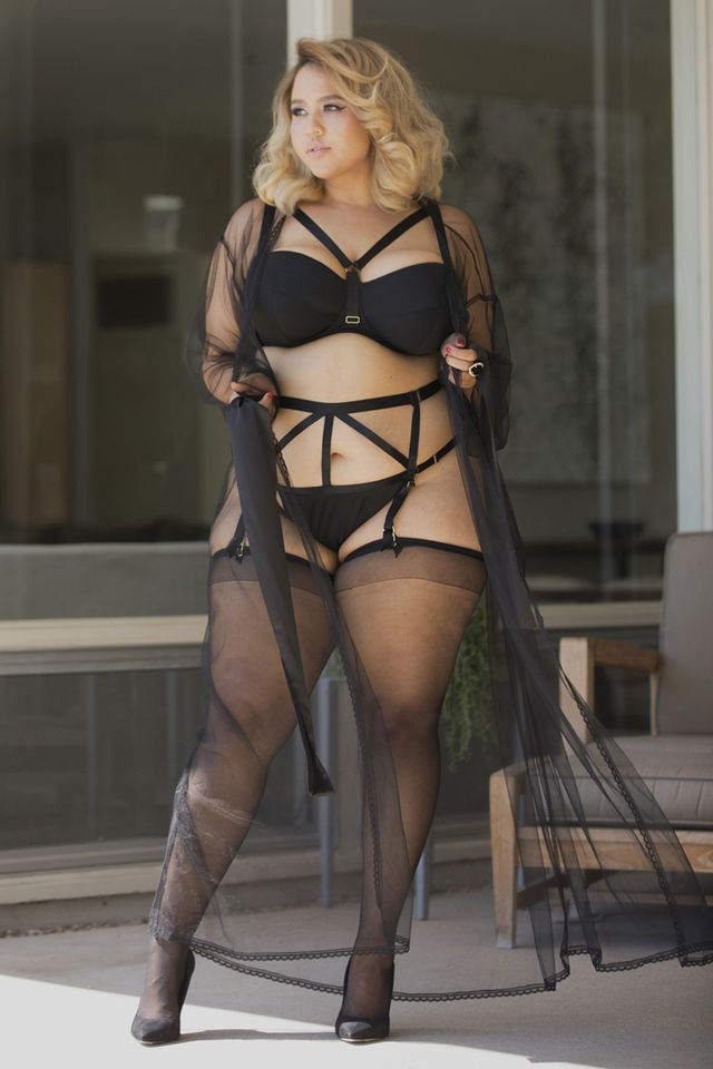 e6ea0c21faf5 We're tongue-tied over Gabi Gregg's new size inclusive, sexy AF! lingerie  line