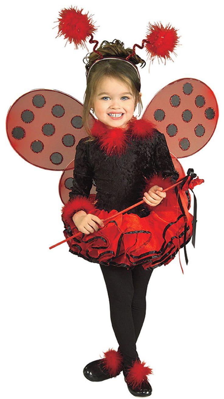 Girls Deluxe Tutu Toddler Ladybug Costume Toddler Ladybug Costumes - Mr. Costumes