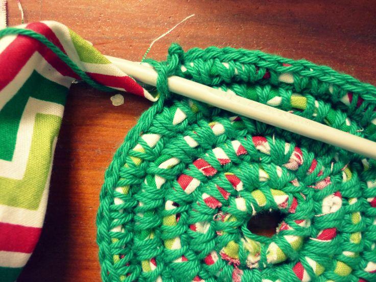 How To Make A Crochet Rag Rug