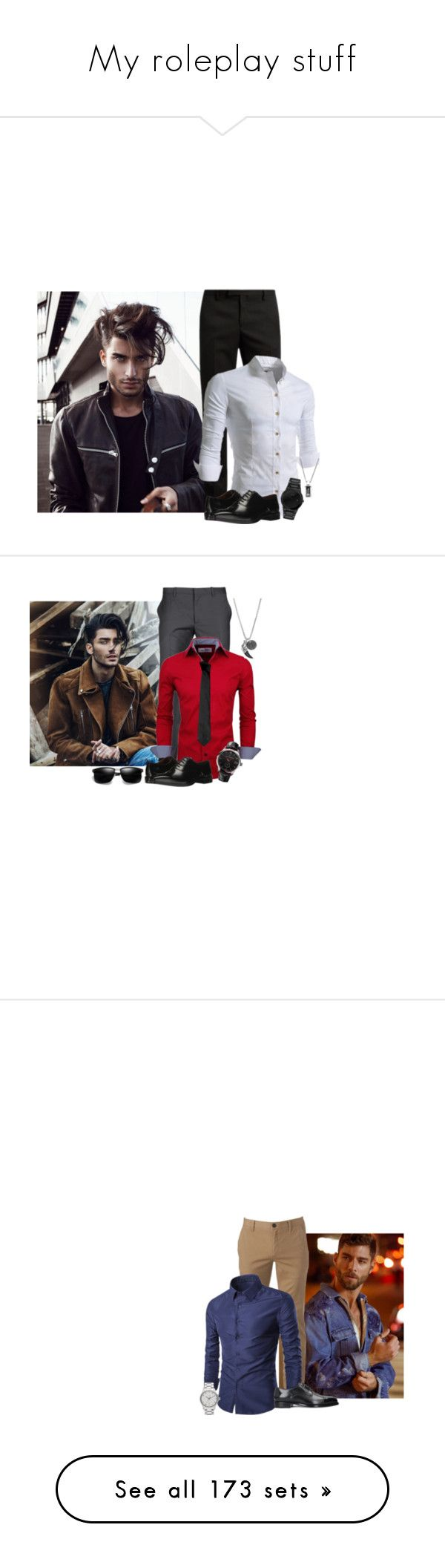 """""""My roleplay stuff"""" by nika-love ❤ liked on Polyvore featuring Yves Saint Laurent, Massimo Matteo, Citizen, Baccarat, men's fashion, menswear, NikaPRP, D&G, Versace and Carl F. Bucherer"""