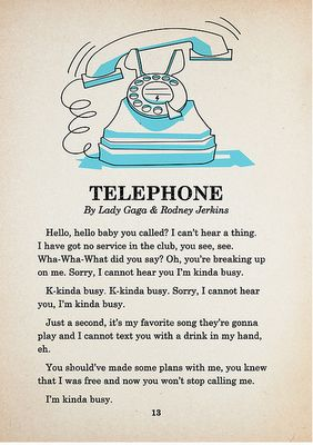 Telephone by Lady Gaga ft. Beyonce. Repinned from Laura @ so alluring.