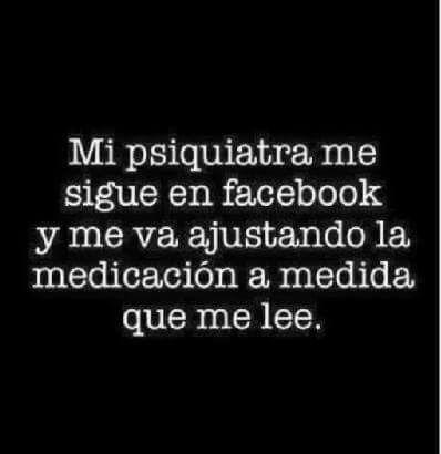 Los psiquiatras te siguen en facebook!!!!!! #humor. Los Psiquiatras están mas Locos que Yo.
