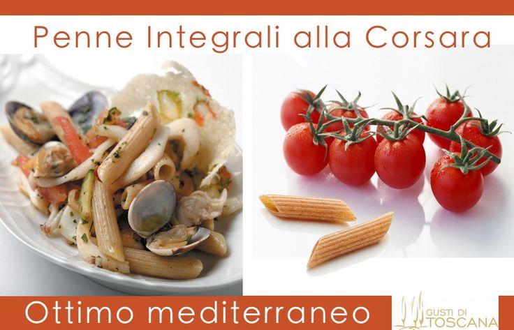 #PENNE RIGATE INTEGRALI #SENZAGLUTINE >>http://bit.ly/1ANqGso #pasta #taste #food #cibo #madeintuscany  Ecco la ricetta: penne integrali alla corsara!  Tagliate sottili seppie e vongole. In una padella con olio e aglio lasciatele cuocere bagnando durante la cottura con brodo. Impreziosite con sale, pepe e prezzemolo. Tagliate zucchine e pomodori e trifolate in padella con il restante olio. Cucinate la pasta e saltatela in padella a fuoco vivo con quanto peparato, sarà buonissima!