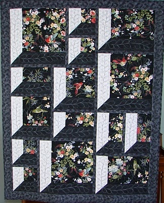 Quilt Inspiration: Into, Through, and Beyond : Attic Windows Quilts