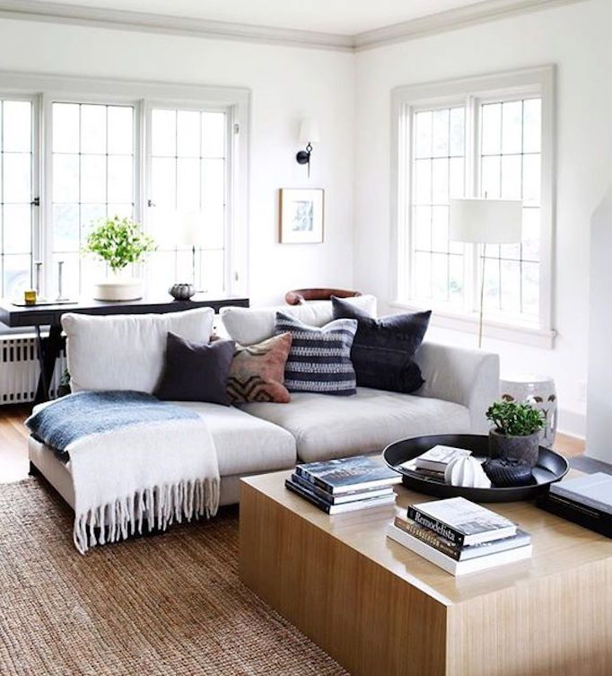 BECKI OWENS--7 Ways to Style a Coffee Table