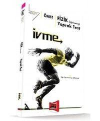 2017 ÖABT İvme Fizik Öğretmenliği Yaprak Test Yargı Yayınları