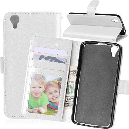 Jepson Alcatel One Touch idol3 4.7(4,7 pouces) Coque PU Cuir Flip Housse Étui Cover Case Wallet Stand avec Carte de Crédit Fentes pour:…