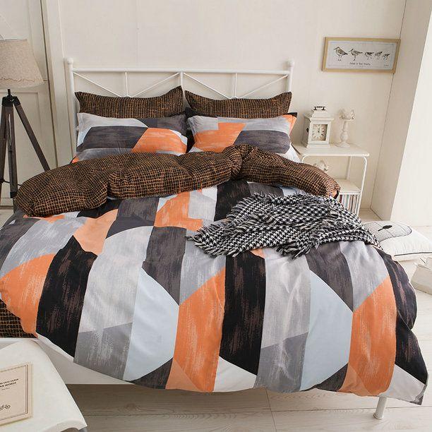 Kvalitné oranžové posteľné obliečky z mikrovlákna