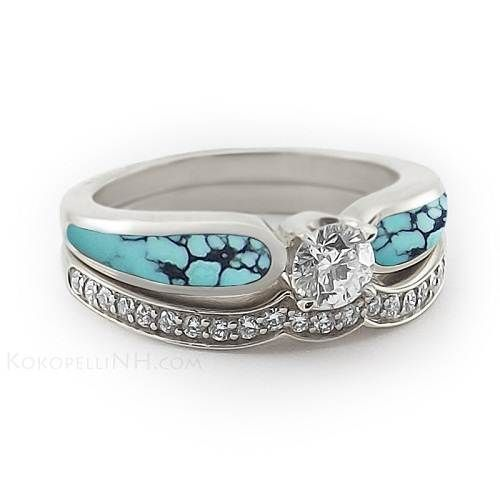 Turquoise + Engagement Rings