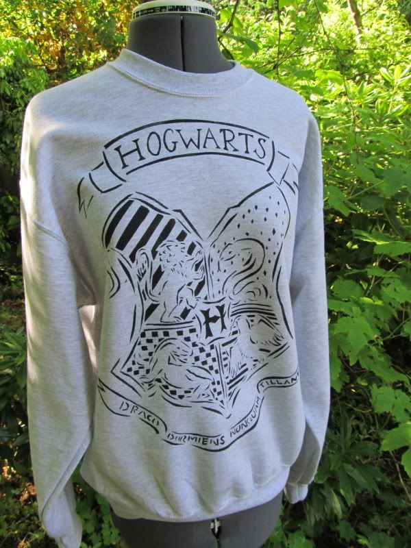 House Crest Sweatshirt by pinkpoodle230