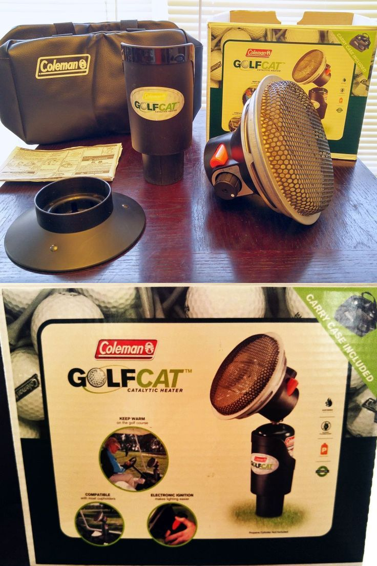 Generators and Heaters 16039: Coleman Golfcat 5039 Propane Catalytic Golf Cart Tabletop Heater 3000 Btu -> BUY IT NOW ONLY: $124.95 on eBay!
