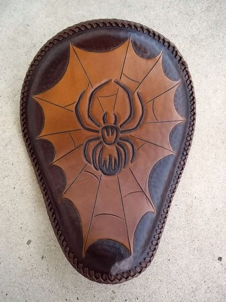 Leather solo seat for sale from Buttskinz.com $250