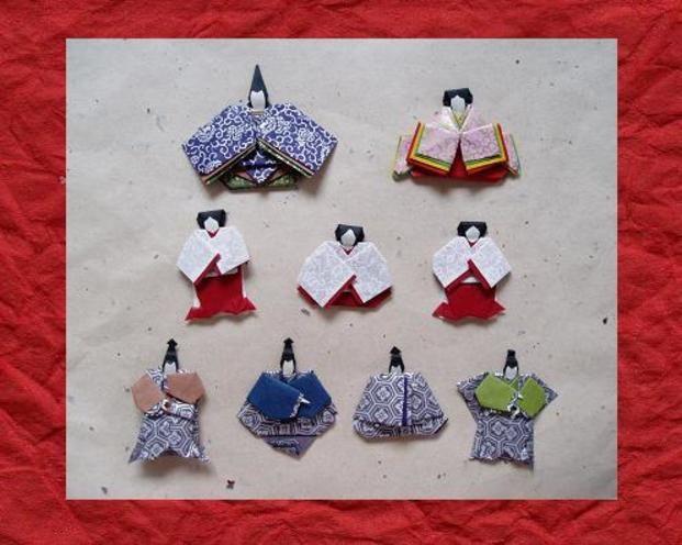 折り紙のおひなさまも可愛いですよね。昔作ったことがある方も多いはず。和柄の作り方で折るのがおすすめ。色んな折り方がありますので、お…