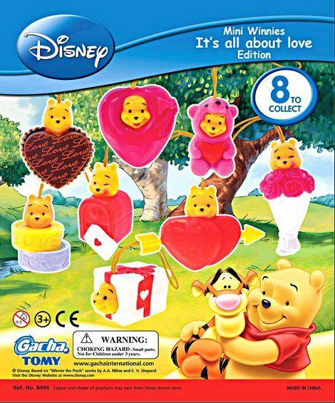 Disney Peek-a-Pooh Love Vending Capsules - 200 ct.