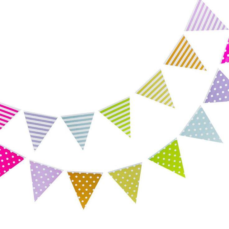 Rainbow Bunting – Lucky Lulu Party Shop