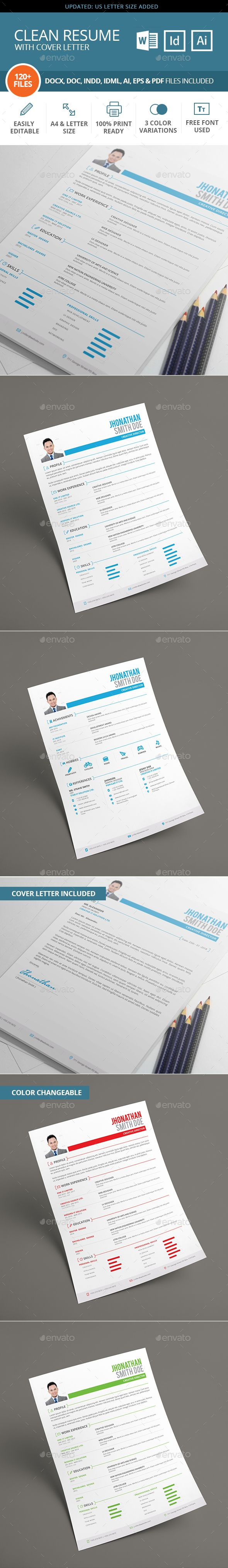 Cute Graphicriver Resume Booklet 8 Pages Gallery - Examples ...