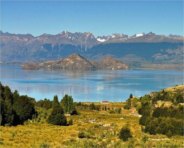 mármore, lago Carrera