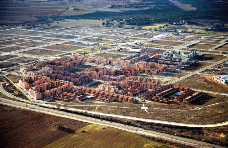 La lección que dan los paisajes fantasma de la burbuja inmobiliaria en España