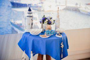 Сладкий стол в морской тематике