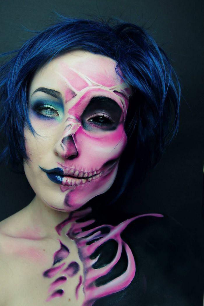 Make up artist Joyce Spakman