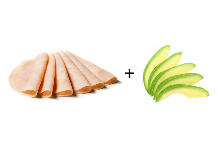 Snacks For Weight Loss - Weight Loss Snacks - Turkey and avocado roll-ups - For a no-carb, protein-rich snack that slows digestion and prevents cravings later on.