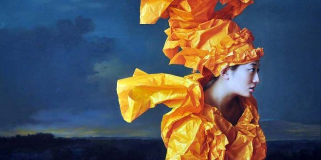 ZENG CHUANXING (1974), CHINESE PAINTER – A kind of cold abstractionism for realistic paintings.