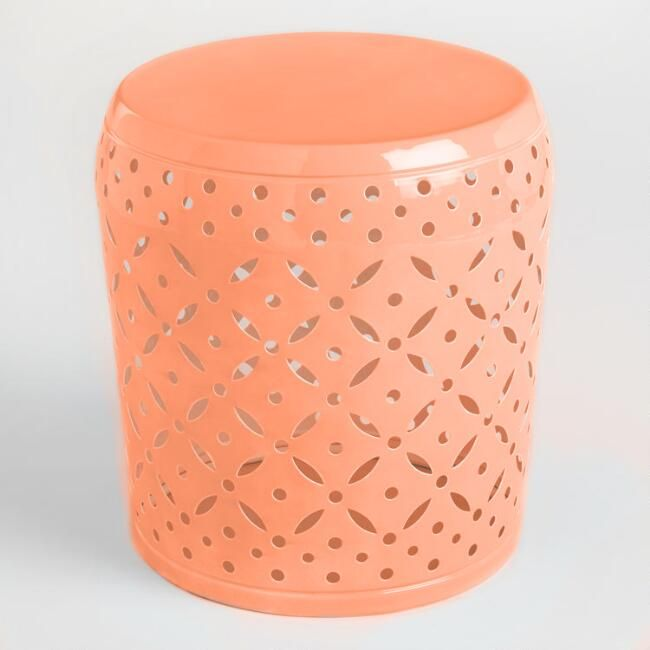 Friday Favs | Garden Stools | Garrison Street Design Studio | Garden Stool Roundup | Garden Stools Less than $100 | Decor | Patio | Outdoor | Side Table | Plant Stand | Ceramic | Metal | Wicker | Bedroom | Bathroom | Porch | White | Green | Pink | Black | Coral | Orange | Yellow | Gray | Lime | Teal | Shower | Cheap | Entryway | Garden Stool Ideas | Home Decor | Drum Stool | Modern Garden Stools | World Market | Colorful | Extra Seating | Modern | Traditional | Funky | Bold | Affiliate Link