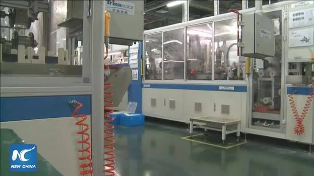 """""""Sunshine"""" on Silk Road: Chinese solar panel maker eyes growth in Thailand. #Live from Rayong industrial zone near Bangkok. #XinhuaLive #BeltandRoad #FacebookLive"""