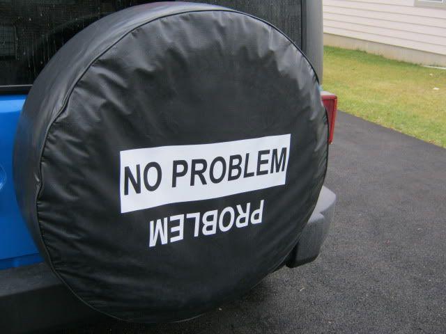 New York No problem/problem spare tire cover - Jeep Wrangler Forum