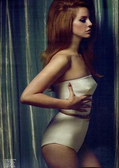 Lana Del Rey in Rochas for Interview Russia February 2012 by Winter Phoenix, via Flickr