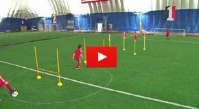 Great video of some Soccer Drills U12 - Shooting and Agility. We have the best video and articles on the web for football (soccer) coaches.