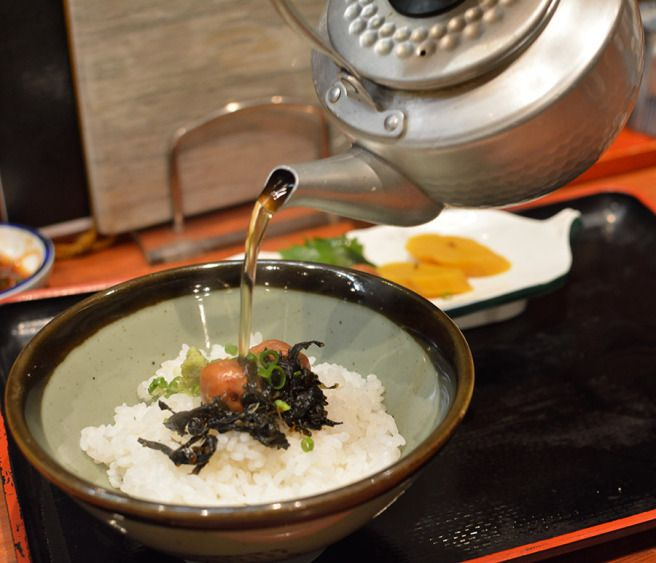 Warm yourself up with a bowl of Chazuke! I would eat this at every meal if I could.