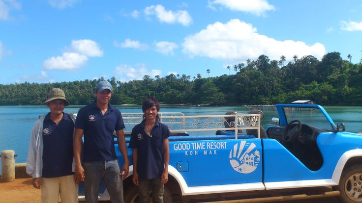 Koh Mak Island Tour and pick-up service with the Good Time Resort Team