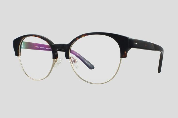 #Brillen van Reor. Dit is de Toulouse (art. nr F10.617UTU), complete bril vanaf € 34,90. #Montuur van donker schildpad design monel en acetaat. Verkrijgbaar in meerdere kleuren.