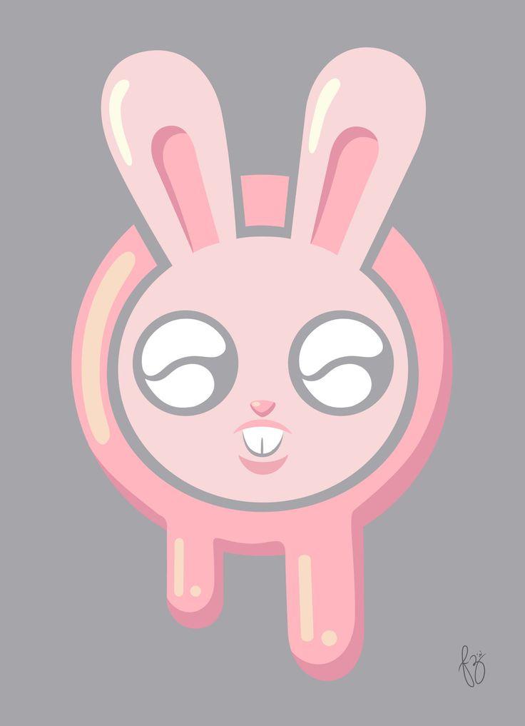 Big Eyes Bunny by NubiaFdez.deviantart.com on @DeviantArt