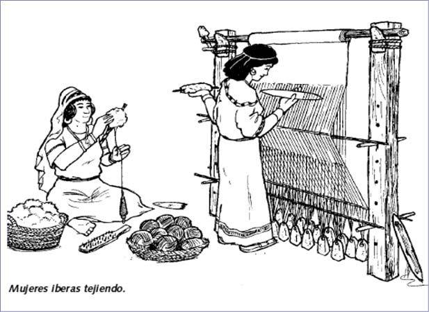 Tejer era una acción fundamental, indispensable, y no negociable para la mujer, puesto que las prendas griegas llevaban demasiada tela, que, por suerte, no requería de mucha confección.
