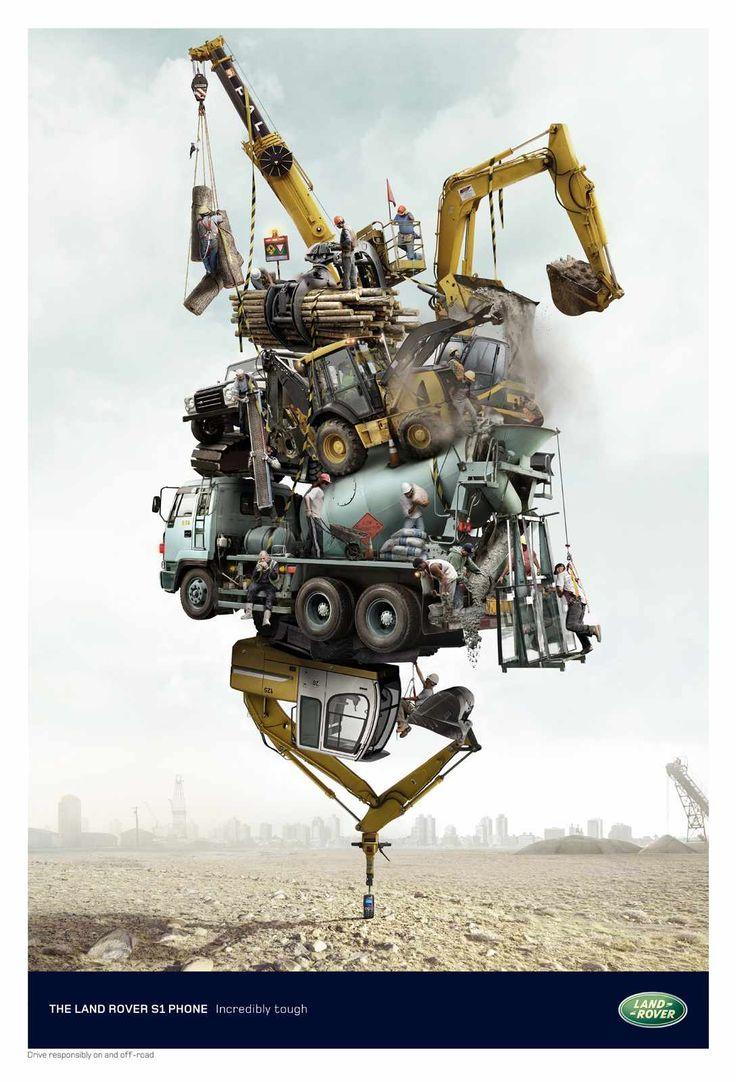 The land rover phone incredibly tough advertising agency y r lima rkcr y r london uk global creative director graham lang regional