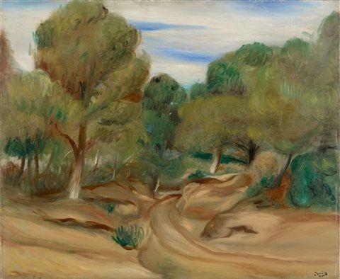 Andre Derain: Pinède aux environs de Saint-Cyr-sur-Mer (1922)