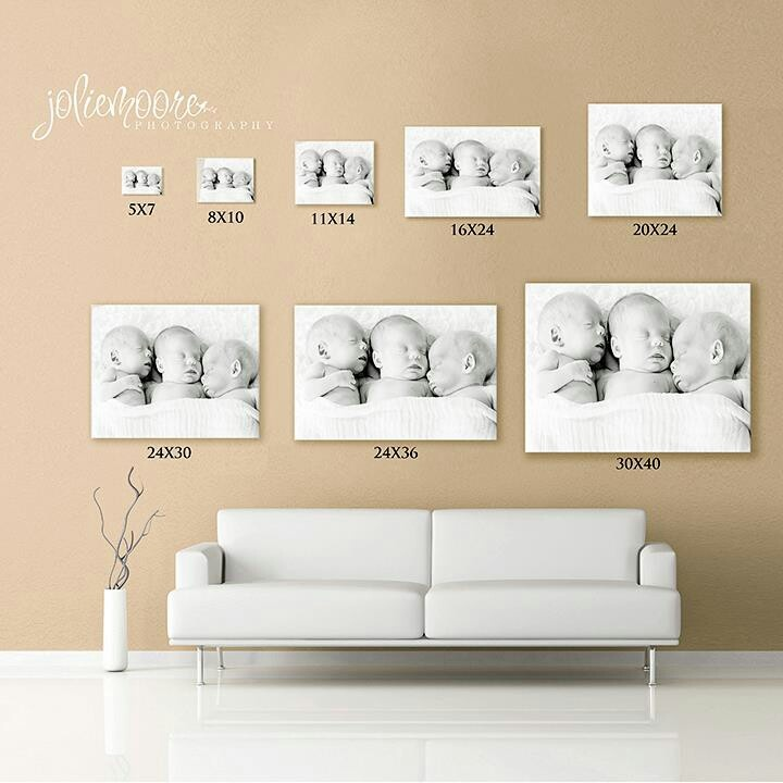 Picture Sizes Canvas Size Wall Art Entrance Wall
