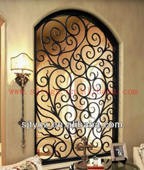 Used Iron Door Grill Designs Interior Wrought Iron Door: Best 25+ Window Grill Design Ideas On Pinterest