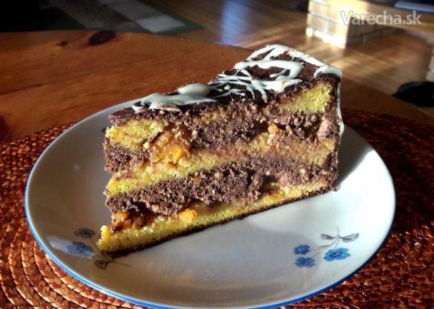 Pomarančovo-čokoládová torta