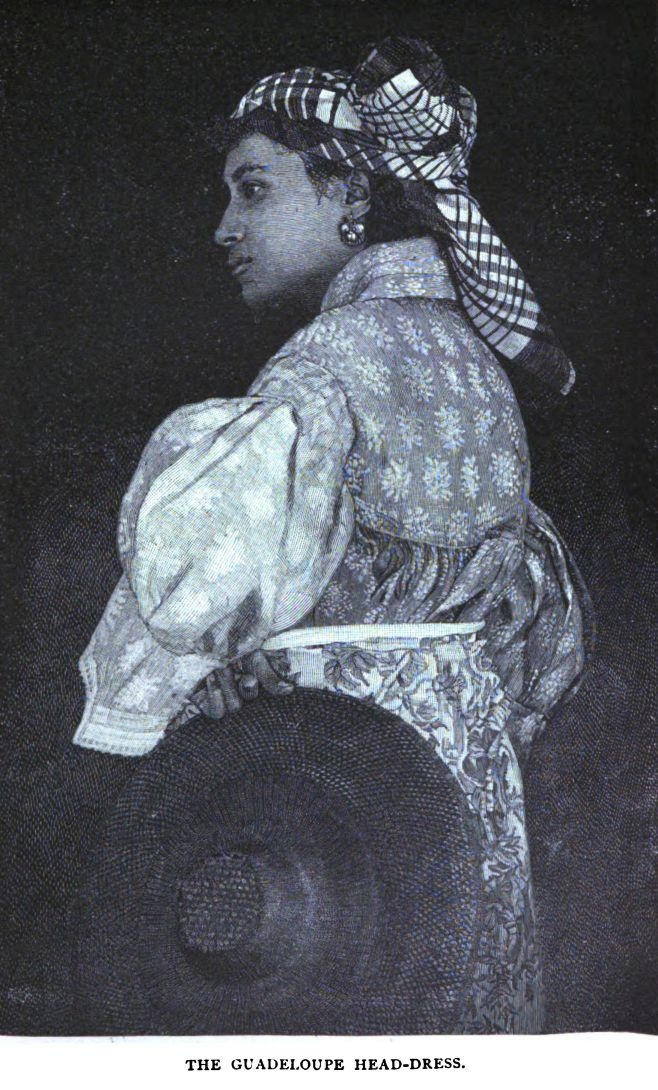 Martinique woman