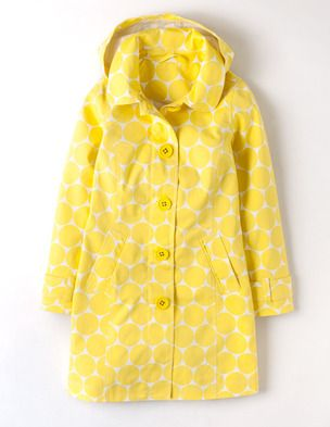 Rainy day mac from boden i have paused long enough and for Boden yellow coat