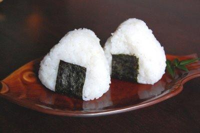 Receta de Bolas de arroz onigiri