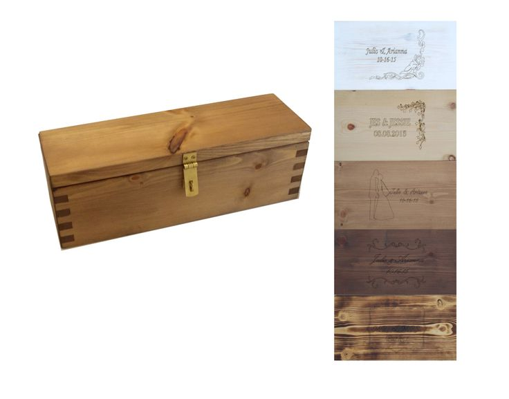 Wood Wine box wood Tea box wedding wine box wedding wine box wedding gift Wine accessories Gifts For The Couple wine box wedding wine box - pinned by pin4etsy.com