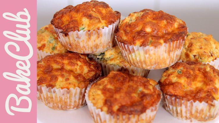 Pizza Muffins | BakeMyDay