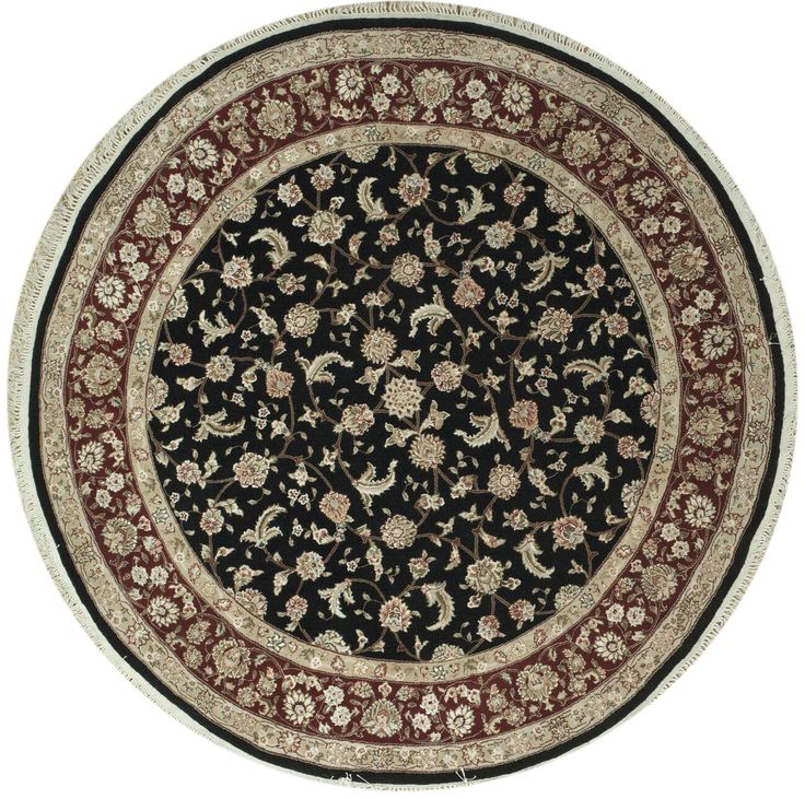 199 best round rugs images on pinterest circular rugs for Round contemporary area rugs